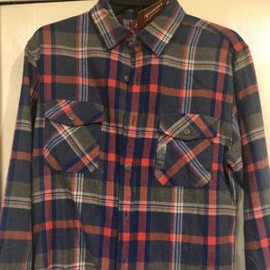 NWT Arizona flannel shirt